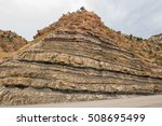 Sandstone Cliff Along The...