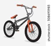 bicycle bmx sport illustration  ... | Shutterstock .eps vector #508695985