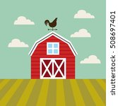 agriculture production... | Shutterstock .eps vector #508697401