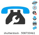 repair service phone pictograph ... | Shutterstock . vector #508733461