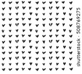 seamless pattern. hearts.... | Shutterstock .eps vector #508769275
