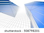 abstract architecture 3d... | Shutterstock . vector #508798201
