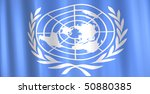 image of a 3d united nations... | Shutterstock . vector #50880385