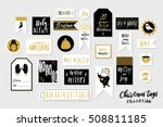 collection of stylish black... | Shutterstock .eps vector #508811185