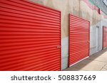self storage units | Shutterstock . vector #508837669
