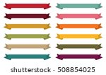 fall color themed horizontal... | Shutterstock .eps vector #508854025