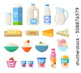 Vector Collection Of Dairy...