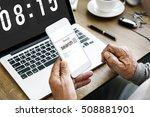 search engine optimization... | Shutterstock . vector #508881901