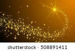 christmas stars  | Shutterstock . vector #508891411