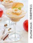 fresh homemade applesauce ...   Shutterstock . vector #508899811