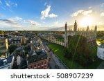 Panoramic View Of Cambridge...