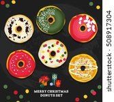 Merry Christmas Style Donuts...