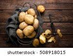 potato | Shutterstock . vector #508918015