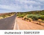 Long Way Road On El Teide...