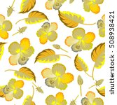vector seamless pattern of... | Shutterstock .eps vector #508938421