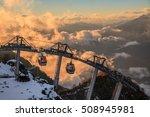 Cableway Lift Gondola Cabins O...