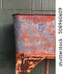 Rusted Weathered Metal...