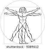 Vitruvian Man Vector Art & Graphics | freevector.com