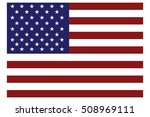 american flag icon | Shutterstock .eps vector #508969111