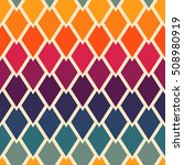 seamless geometric pattern with ... | Shutterstock .eps vector #508980919