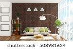 modern bright interior . 3d...   Shutterstock . vector #508981624