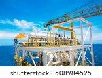 exhaust of gas turbine engine... | Shutterstock . vector #508984525
