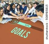 target success strategy... | Shutterstock . vector #508985815