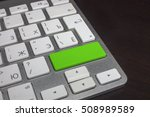 keyboard with pure color button.... | Shutterstock . vector #508989589