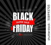 black friday sale best design...   Shutterstock .eps vector #508993705