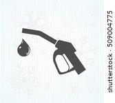 gun for fuel pump with a drop... | Shutterstock .eps vector #509004775