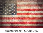 grunge flag of usa | Shutterstock . vector #50901226