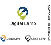 digital lamp internet... | Shutterstock .eps vector #509022901