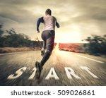 fast runner | Shutterstock . vector #509026861