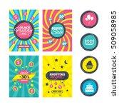 sale website banner templates.... | Shutterstock .eps vector #509058985