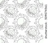 seamless pattern coloring natal ... | Shutterstock .eps vector #509074561