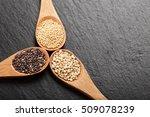 quinoa  chia and amarantus...   Shutterstock . vector #509078239