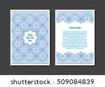 templates flyer and invitation... | Shutterstock .eps vector #509084839