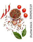 rich colorful spicy italian... | Shutterstock . vector #509092519