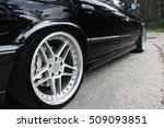 car wheels close up on a... | Shutterstock . vector #509093851