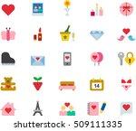 fitness   health care black... | Shutterstock .eps vector #509111335