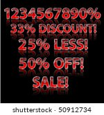 discount season elements eps 10 ... | Shutterstock .eps vector #50912734