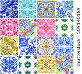 seamless pattern with with... | Shutterstock . vector #509140189