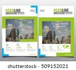 modern elegance annual report... | Shutterstock .eps vector #509152021