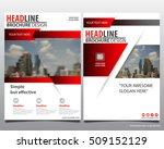 modern elegance annual report...   Shutterstock .eps vector #509152129