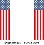 usa patriotic design with the... | Shutterstock .eps vector #509153095