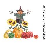 Scarecrow   Hand Drawn...