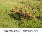 Old And Rusty Plow Abandoned I...