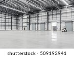 interior of a warehouse | Shutterstock . vector #509192941