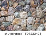 stones wall use for background   Shutterstock . vector #509223475
