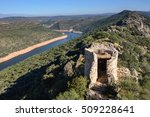 tagus river in national park of ... | Shutterstock . vector #509228641
